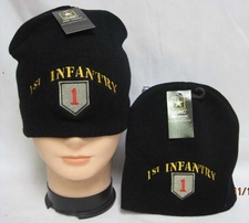 Wholesale Caps, Wholesale Hats, Military - WIN778 1st Infantry Beanie
