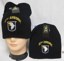 Wholesale Caps, Wholesale Hats, Military - Winter Discount Beanies Military - WIN787 101 Airborne Beanie