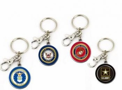 Wholesalers Keychains Bulk Suppliers - MILITARY KEY CHAINS 36.00 CASE