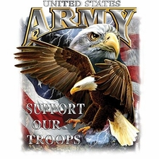 Military Patriotic T Shirts Bulk - Us Army Support Our Troops a8517f