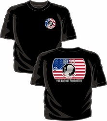 Military T Shirts Bulk Wholesale - POW MIA T-Shirt - Black
