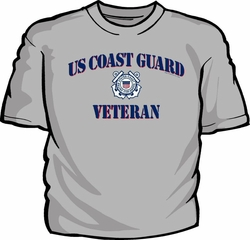 Military T Shirts Bulk Wholesale - US Coast Guard Veteran T-Shirt