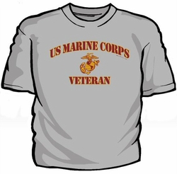 Military T Shirts Bulk Wholesale - US Marine Corps Veteran T-Shirt