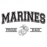 Military T Shirts Marines Proud Dad Wholesale Bulk Suppliers - a12327c