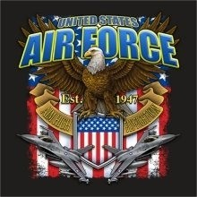 Air Force T-Shirts Wholesale - 22303