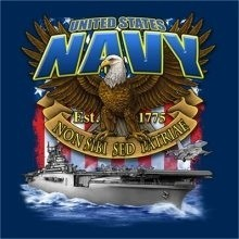 Navy T-Shirts Wholesale - Navy Carrier 22301