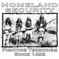 Military T Shirts, Native American Wholesale Bulk Suppliers - 15909-13x12-homeland-security-fighting-terrorism-1492