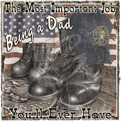 Military T Shirts, Being a Dad Navy Wholesale Cool Cheap Military Clothing - P-1540