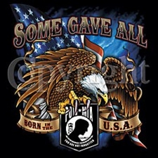 POW MIA Military T Shirts Wholesale - Pow Mia Eagle