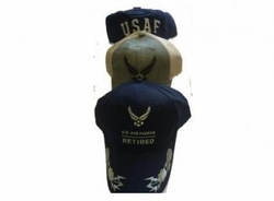 Military, Apparel, Military Hats Wholesale Suppliers - AIR FORCE CAP-ASST 72.00 case