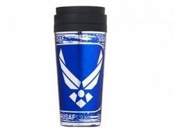 Military Wholesalers Products Licensed Bulk Suppliers - AIR FORCE METALLIC TUMBLER 80.00 case
