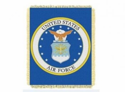 Military, Apparel, Military Blankets Wholesale Suppliers - AIR FORCE THROW BLANKET 24.00 each
