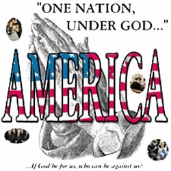 Wholesale T Shirts Hats, Military Tee Shirts, One Nation Under God - A9283B