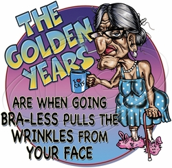 Wholesale Funny T Shirts - Golden Years T-Shirts & Shirt Designs P-2073