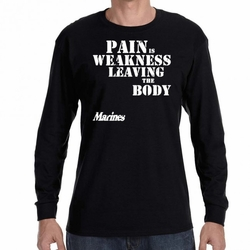 Marines T Shirts Wholesale - 22219 long sleeve black