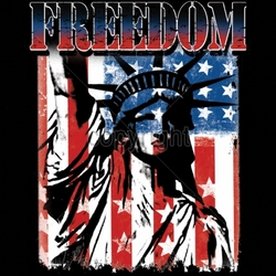 T Shirts Wholesale Patriotic American Flag - MSC Distributors