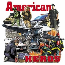 Wholesale Military Style T Shirts - American Heros A10843D
