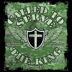 Wholesale Christian T Shirts Supplier - Called To Serve The King a8978f