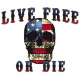 Patriotic T Shirts Wholesale - a9256f live free or die