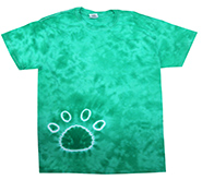 Wholesale Tie Dye Print T-Shirts - PAW KELLY