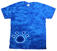 Wholesale Tie Dye Print T-Shirts - PAW ROYAL