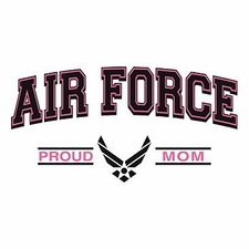 Wholesale Clothing Apparel Military T-Shirts Bulk Supplier - Proud Air Force Mom a12308e