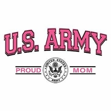 Wholesale Clothing Apparel Military T-Shirts Bulk Supplier - Proud Army Mom a12271c