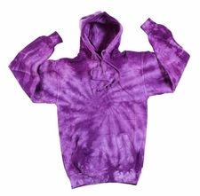 Wholesale Tie Dye Sweatshirts Bulk - Purple Monsoon