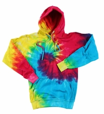 Wholesale Tie Dye Sweatshirts Bulk - Rainbow Swirl Monsoon