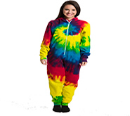 Wholesale Tie Dye Onesies Print - REACTIVE RAINBOW