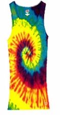 Tie Dye Tank Tops For Juniors Wholesale Suppliers -REACTIVE RAINBOW