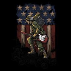 Miltary T Shirts - Wholesale - REBEL With A CAUSE 15428D0-2T