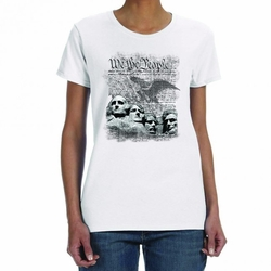 Wholesale, Military T Shirts - We the People 21336 short sleeve white