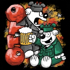 Shirts Military Suppliers - Military Cartoon T Shirts Beer