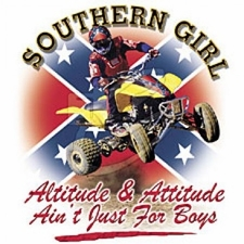 Wholesale Bulk Products T Shirts Clothing Wholesalers - Southern Girl 4X4 Quad Sports Rebel