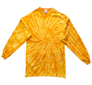 Clothing T Shirts Tie Dye Long Sleeve Wholesale Suppliers - SPIDER GOLD