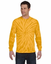 Wholesale T-Shirts Clothing Long Sleeve Tie Dye T Shirts Bulk Supplier - SPIDER GOLD