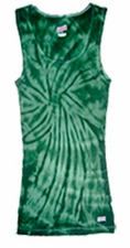 Tie Dye Tank Tops For Juniors Wholesale Suppliers -SPIDER GREEN