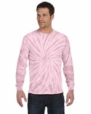 Wholesale T Shirts Tie Dye Long Sleeve Wholesale Suppliers - SPIDER PINK