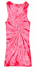 Tie Dye Tank Tops For Juniors Wholesale Suppliers - SPIDER PINK