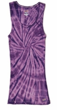 Tie Dye Tank Tops For Juniors Wholesale Suppliers - SPIDER PURPLE