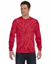 Wholesale T Shirts Tie Dye Long Sleeve Wholesale Suppliers - SPIDER RED
