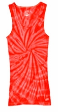 Tie Dye Tank Tops For Juniors Wholesale Suppliers - SPIDER RED