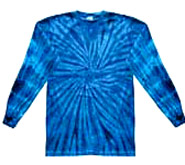 Clothing T Shirts Tie Dye Long Sleeve Wholesale Suppliers - SPIDER ROYAL