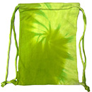 Wholesale T-Shirts Tie Dye Sport Bags - SPIRAL LIME