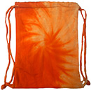 Wholesale Tie Dye Sport Bags - SPIRAL ORANGE