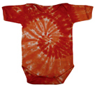 Wholesale Tie Dye Oneses Suppliers - SPIRAL ORANGE
