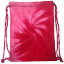 Wholesale T-Shirts Tie Dye Sport Bags - SPIRAL PINK