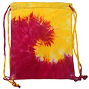 Wholesale T-Shirts Tie Dye Sport Bags - SPIRAL PINK YELLOW