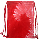 Wholesale Tie Dye Sport Bags - SPIRAL RED